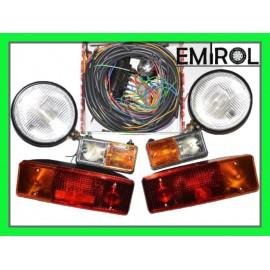 Zestaw lampy Ursus C360 instalacja elektryczna