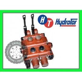 Rozdzielacz hydrauliczny dwusekcyjny Bizon Rekord Z056 Z058 HYDROTOR