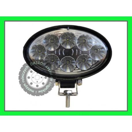 Lampa robocza LES 2800 Lumenów 8x5w OSRAM uniwerdalna ZETOR CASE Fendt