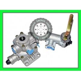 Zawór główny + regulator siły hamowania 4 do przyczepy D35 D46 D47 D35