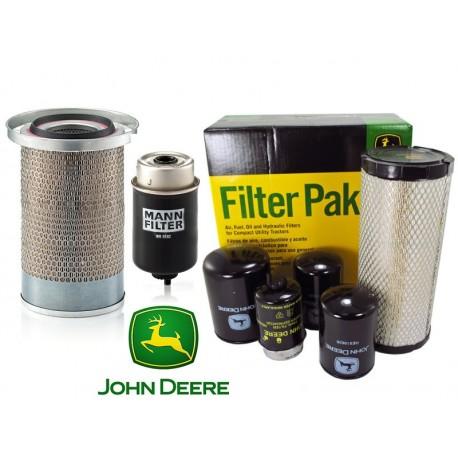 Filtr powietrza hydrauliczny paliwa oleju kabiny John Deere NAJTANIEJ!