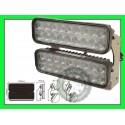 Lampa robocza panel LED halogen listwa podwójna 4300 Lumenów