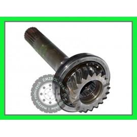 Wałek sprzęgłowy wom pompy hydraulicznej John Deere 1640,2040,2040S