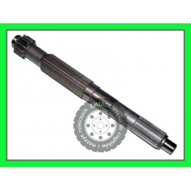 Wałek skrzyni biegów sprzęgłowy CLAAS Dominator 85 drobny frez dl474mm