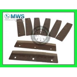 Noże zestaw noży gładkich do sieczkarni z śrubami Claas Jaguar 069838
